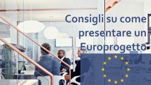consigli su come presentare un europrogetto